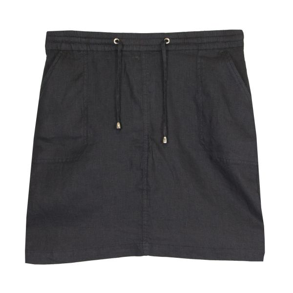 Bloomers Damen Leinen Rock