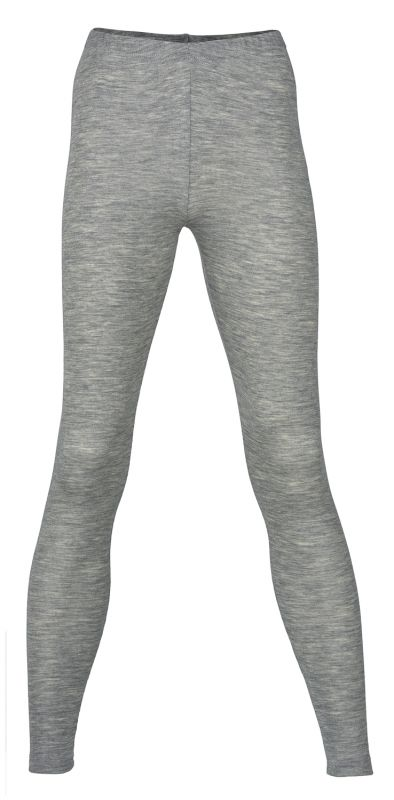 Engel Natur Damen-Leggings Wolle Seide