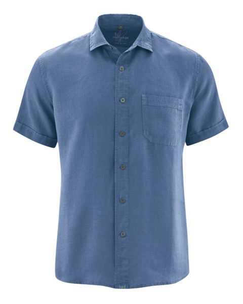 Hempage Herren Hanf short sleeved shirt