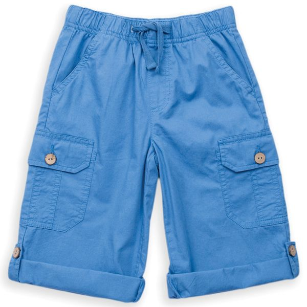 Roll-up Short, Farbe blau