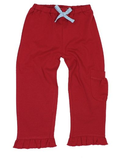 Cotton People Mädchen Hose rot