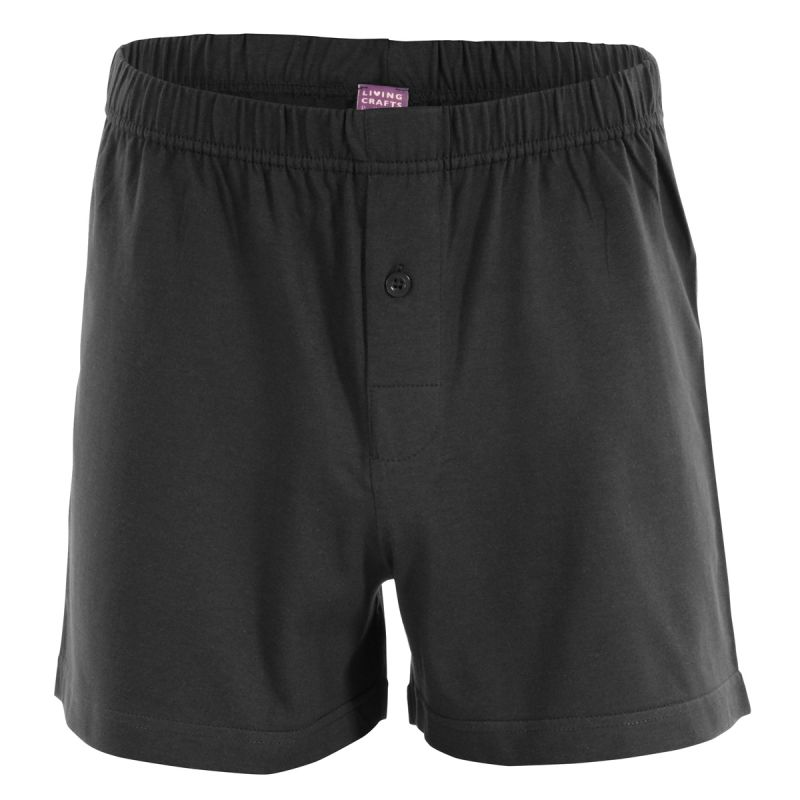 LIVING CRAFTS Herren Boxer-Shorts Bio Baumwolle