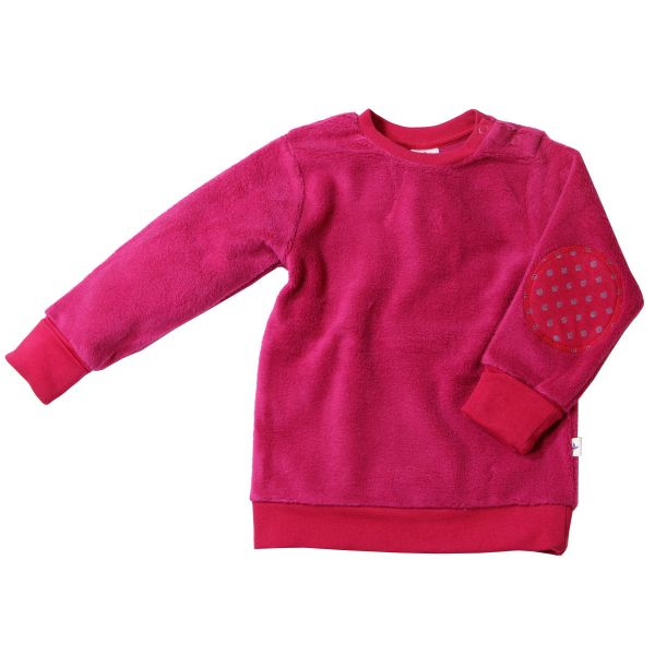 Leela Cotton Kinder Fleece-Sweatshirt Bio Baumwolle