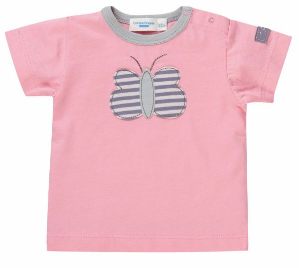 Cotton People Baby Hemd T-Shirt, rosa