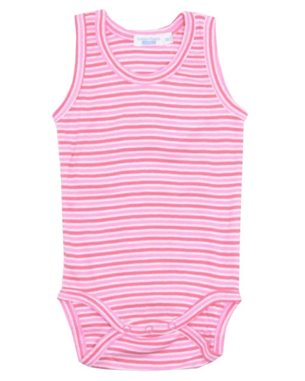Cotton People Baby Body ohne Arm