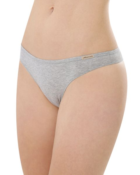 Comazo Earth Damen String low-cut Baumwolle Elasthan